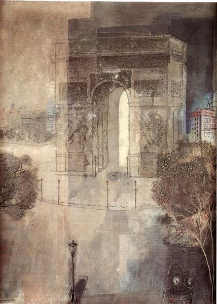 Arc de Triomphe, 1929 - Jury Annenkov
