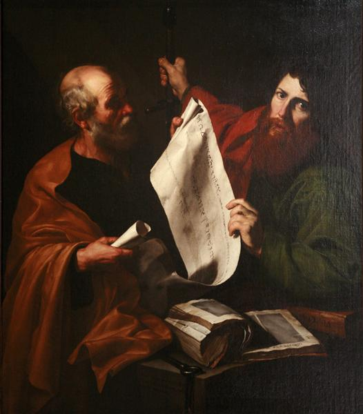 Saint Peter and Saint Paul, c.1616 - José de Ribera