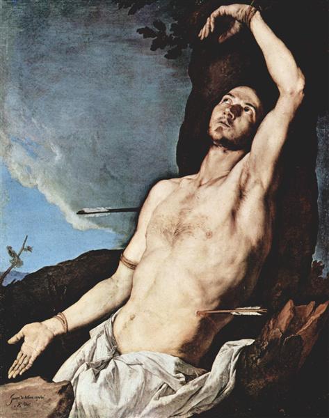 St. Sebastian, 1651 - Jusepe de Ribera