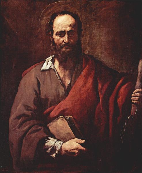 St. Simon, c.1630 - Jusepe de Ribera