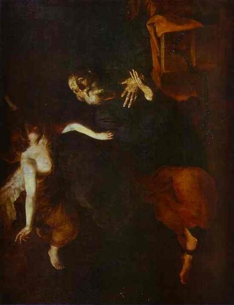 The Deliverence of St. Peter from Prison, 1642 - Jusepe de Ribera