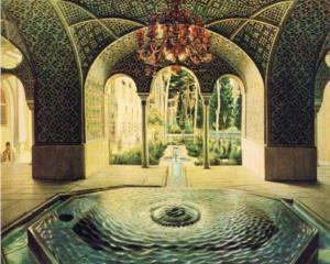 The spring hall of Golestan Palace - Kamal-ol-Molk