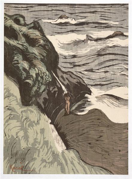 Bathing in Brittany - Kanae Yamamoto