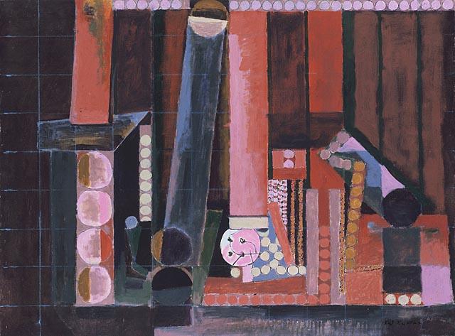 Cylinders, 1944 - Karl Knaths