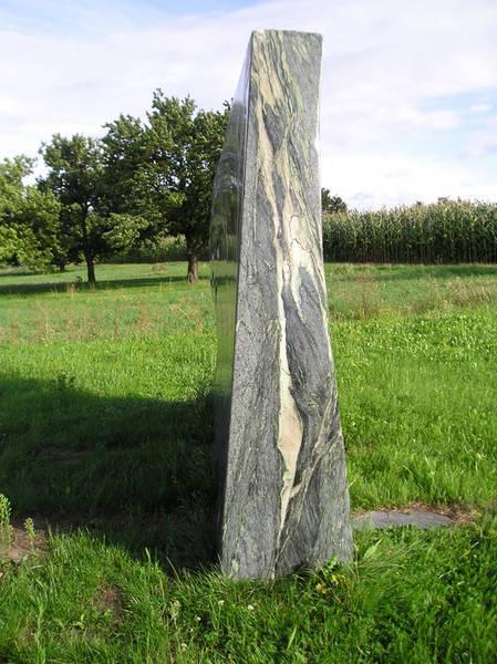 Stein zur Meditation, Engel - Karl Prantl