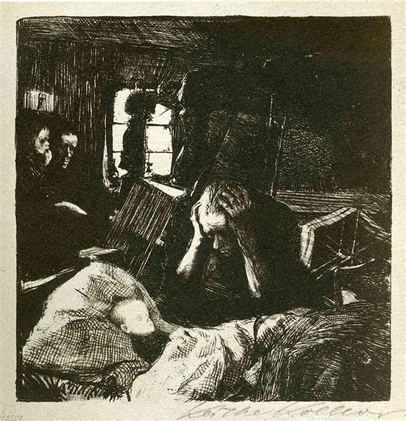 Need, 1893 - 1897 - Kathe Kollwitz
