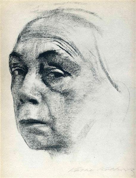 Self-Portrait, 1924 - Kathe Kollwitz