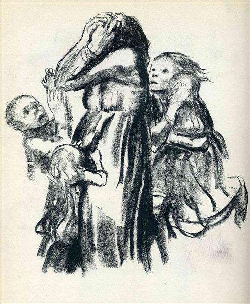 Killed in Action, 1921 - Kathe Kollwitz