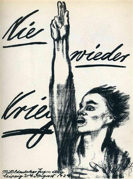Never Again War, 1924 - Kathe Kollwitz