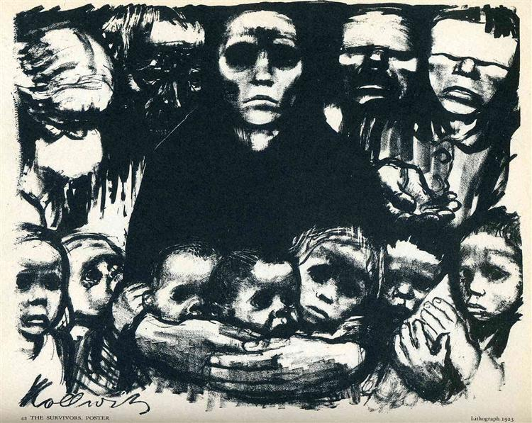 The Survivors - Kathe Kollwitz