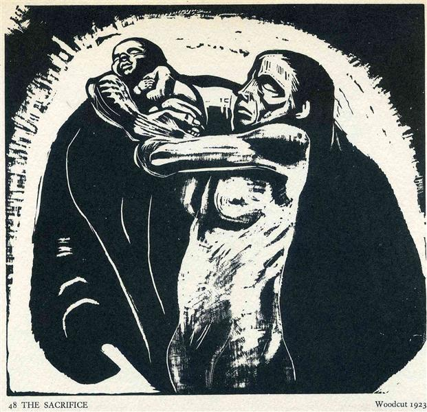 The Sacrifice, 1922 - Kathe Kollwitz