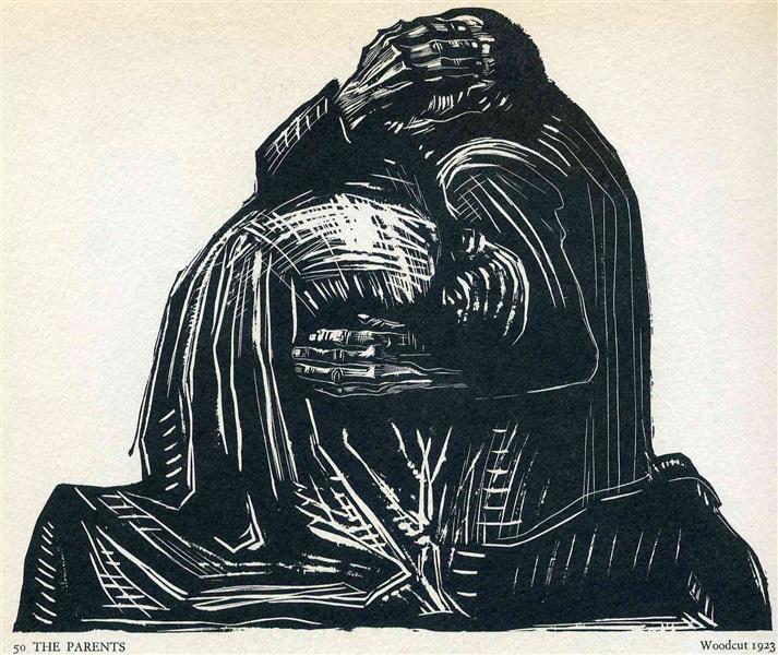 The Parents, 1922 - Kathe Kollwitz