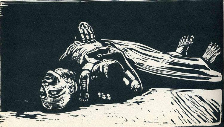 The Widow II, 1922 - Kathe Kollwitz