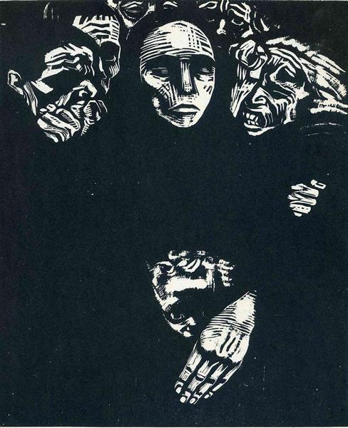 The People, 1922 - Käthe Kollwitz