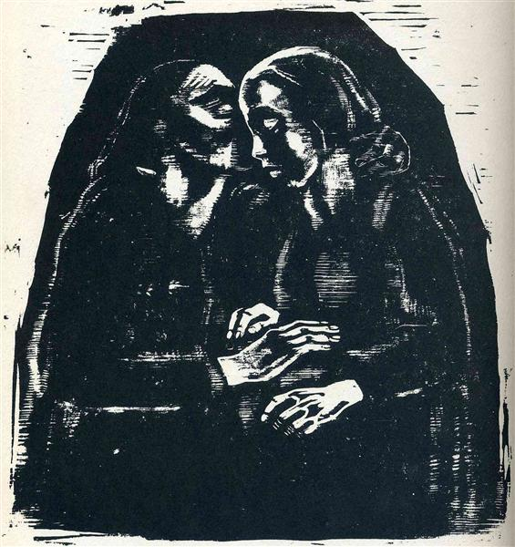 Mary and Elizabeth - Käthe Kollwitz