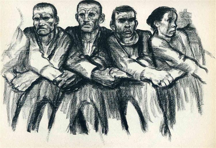 Solidarity, 1932 - Kathe Kollwitz
