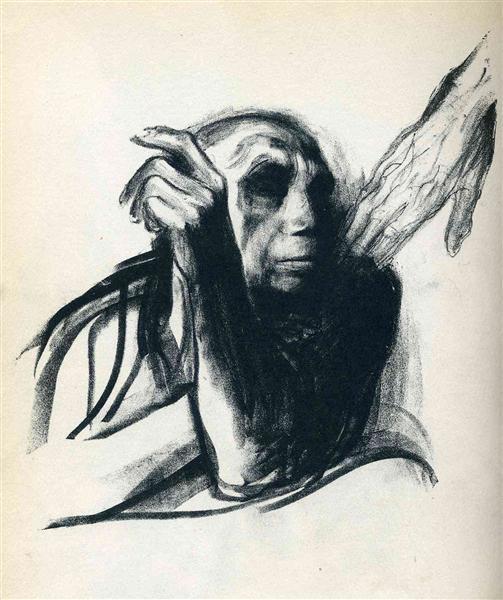 Call of Death, 1934 - Kathe Kollwitz