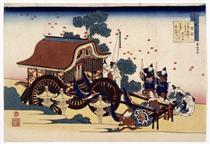 Il carro Bullock - Katsushika Hokusai