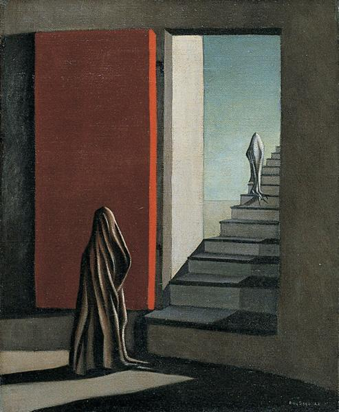 The Fourteen Daggers, 1942 - Kay Sage