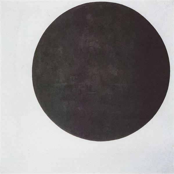 Black Circle, 1923 - Kazimir Malevich