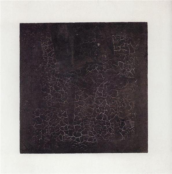 Black Square, 1915 - Kazimir Malevich