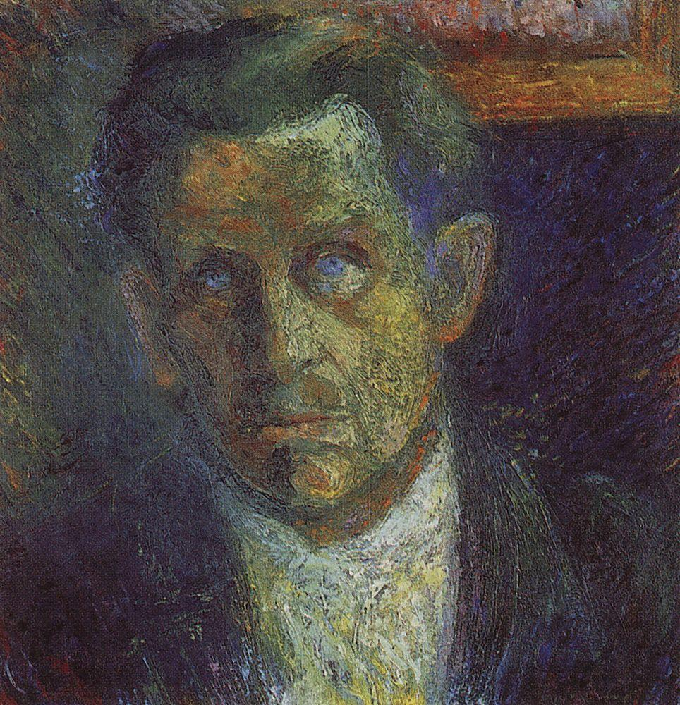 Portrait of Ivan Kliun, 1933 - Kazimir Malevich - WikiArt.org