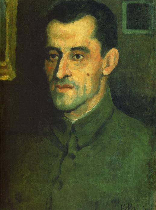 Portrait of V.A.Pavlov - Kazimir Malevich - WikiArt.org ...