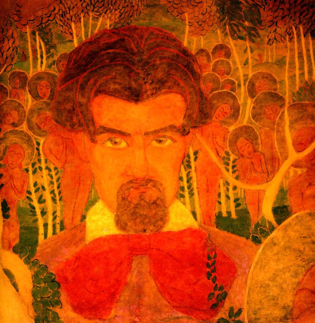 Self-Portrait, 1907 - Kazimir Malevich - WikiArt.org