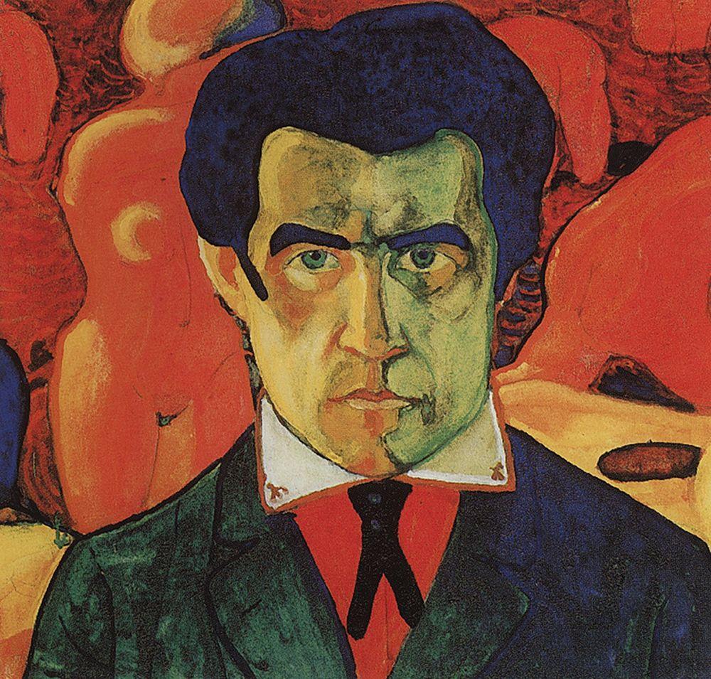 Self-Portrait, 1910 - Kazimir Malevich - WikiArt.org