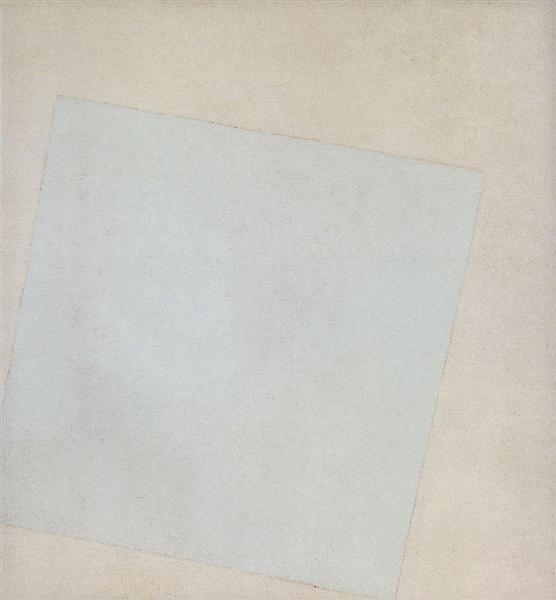 Suprematist Composition: White on White - Kazimir Malevich