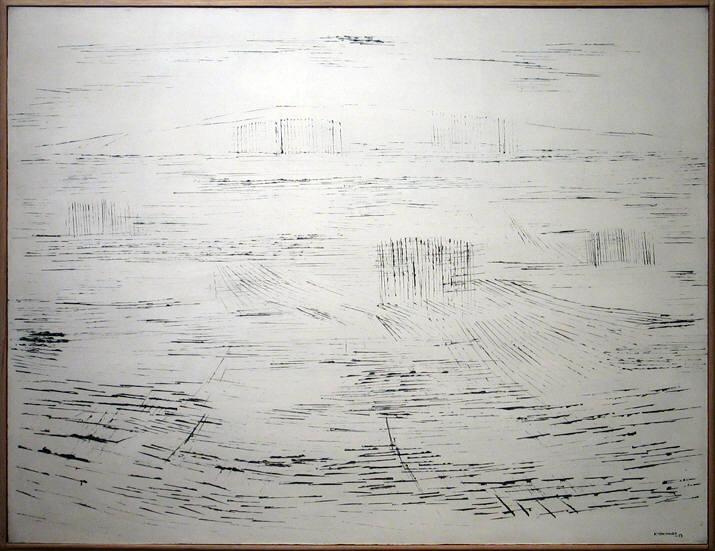 White Landscape, 1953 - Kazuo Nakamura