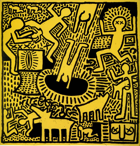 Untitled, 1981 - Keith Haring