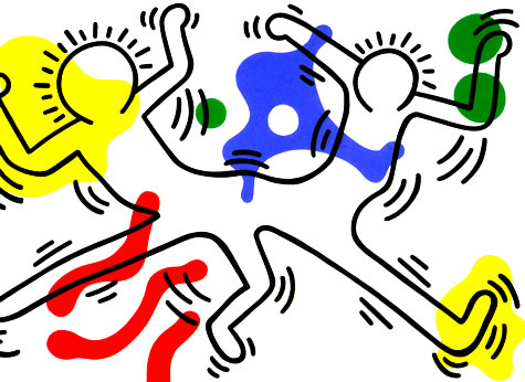 Untitled, 1986 - Keith Haring