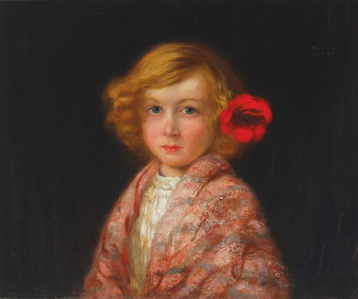 The Flower in the Hair - Kimon Loghi