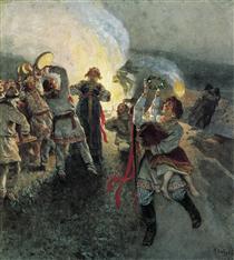 Night of Ivan Kupala - Klavdi Lébedev