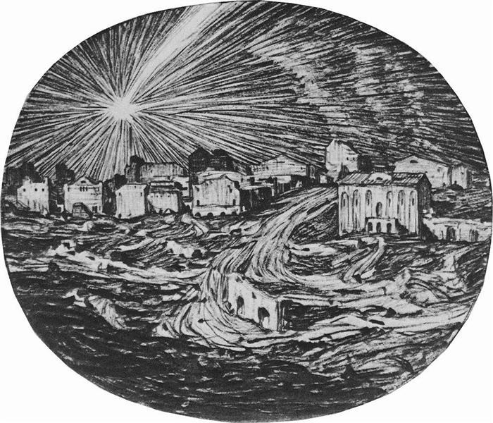The star, 1908 - Konstantin Bogaevsky