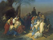 Children of Jacob sell his brother Joseph - Константин Флавицкий