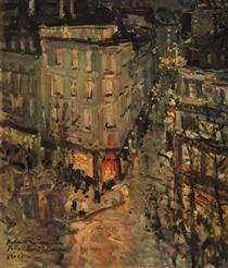 Paris.Boulevard des Capucines. - Konstantin Alexejewitsch Korowin