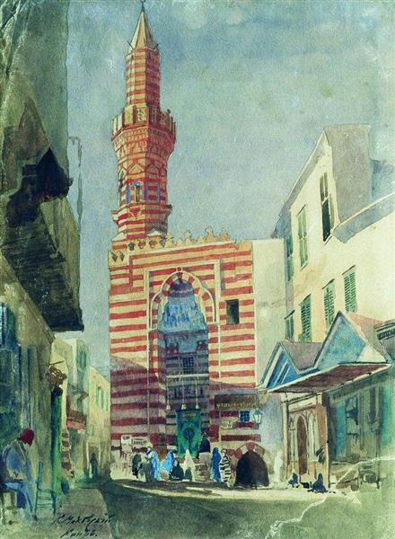 Cairo, 1867 - Konstantin Makovsky