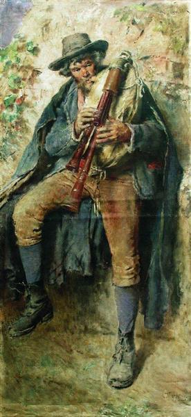 Piper, c.1900 - c.1910 - Konstantin Jegorowitsch Makowski