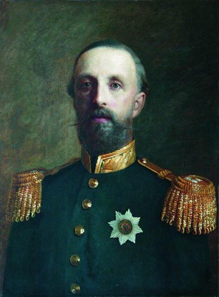 Prince Oscar Bernadotte, Duke of Ostgotlandiya, 1860 - 1870 - Konstantin Makovsky