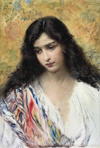 Russian Beauty - Konstantin Makovsky