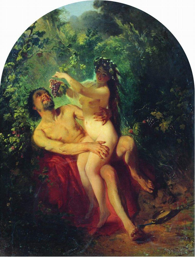 http://uploads5.wikipaintings.org/images/konstantin-makovsky/satyr-and-nymph.jpg