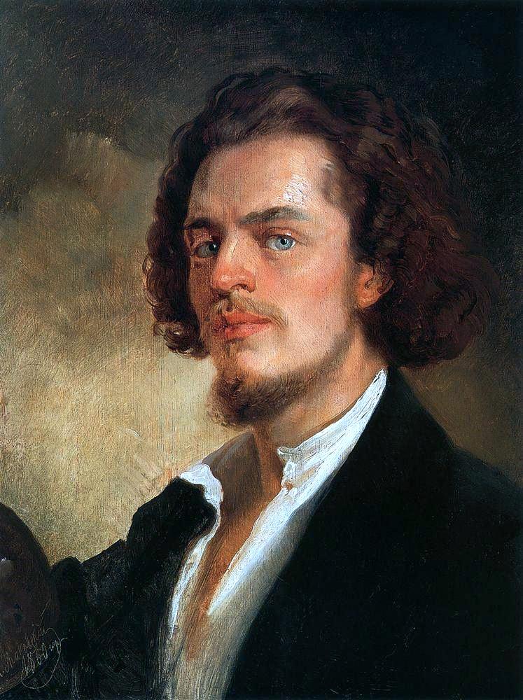 Konstantin Makovsky Self-portrait-1