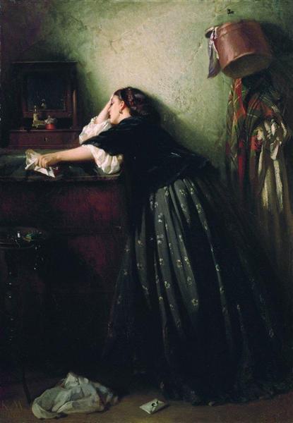 Widow, 1865 - Konstantin Makovsky