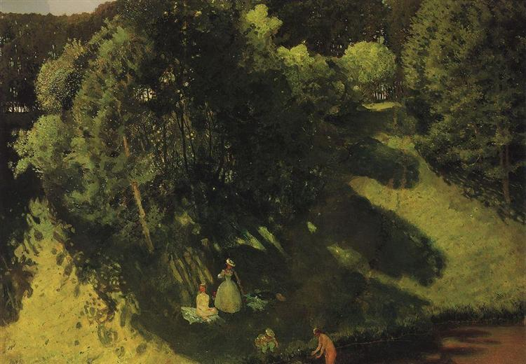Bathings, 1899 - Konstantin Somov