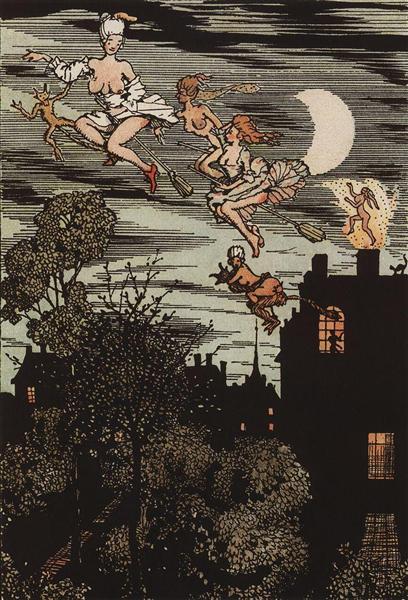Book of the Marquise. Illustration 7, 1918 - Костянтин Сомов