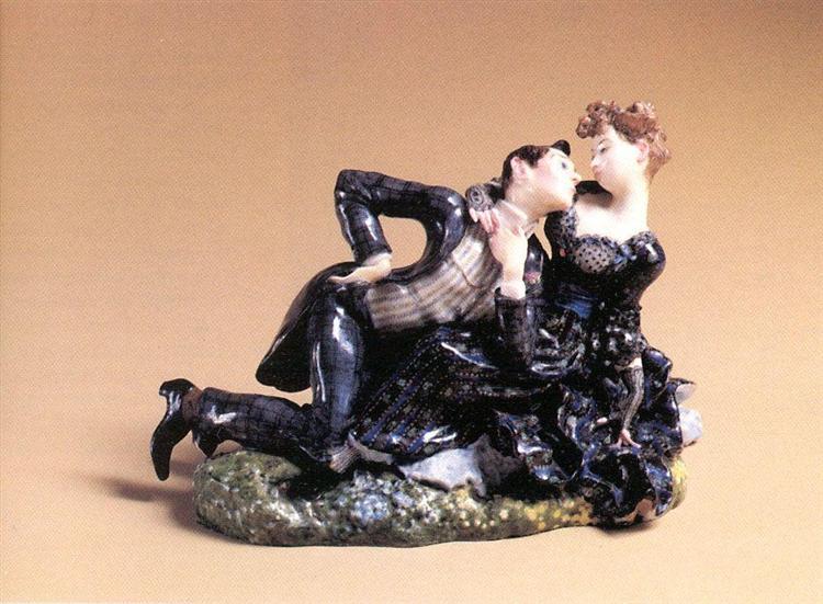 Lovers 2, 1905 - Konstantin Somov