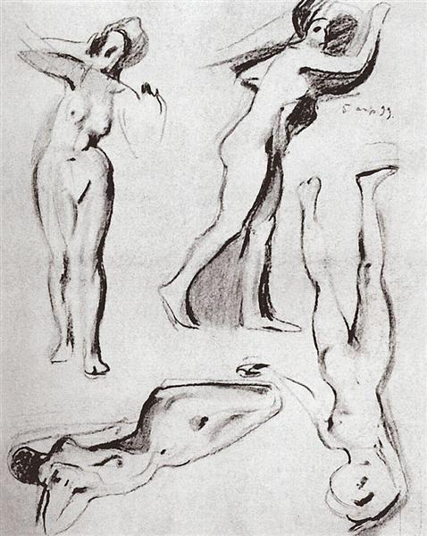 Models 1, 1899 - Konstantin Somov