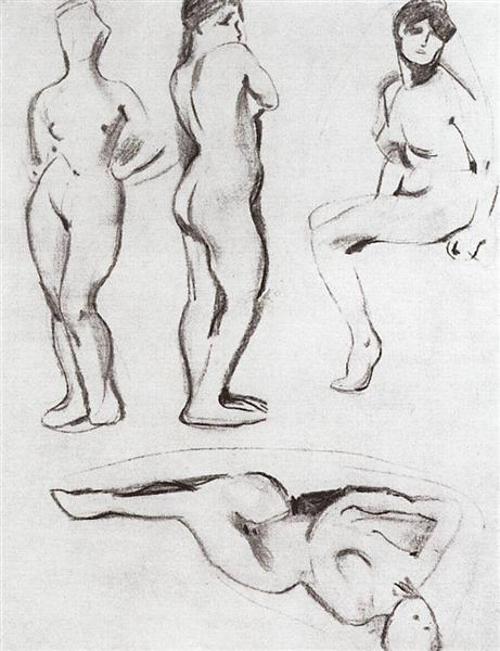 Models 2, 1899 - Konstantin Somov